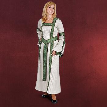 Mittelalter G�rtel Damen oliv mit Zierborte