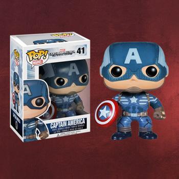 Captain America Wackelkopf Figur