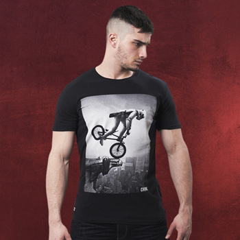 Star Wars - BMX Trooper T-Shirt schwarz