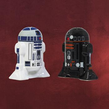 Star Wars - R2-D2 & R2-Q5 Salz & Pfefferstreuer