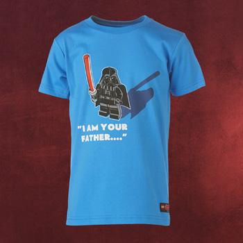 LEGO Star Wars - Vader Kinder T-Shirt blau