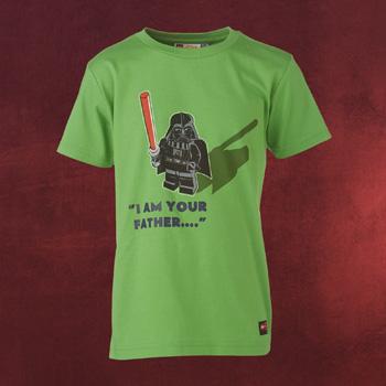 Star Wars - Vader Kinder T-Shirt grün