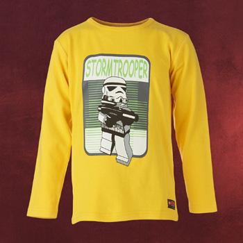 LEGO Star Wars - Stormtrooper Longsleeve f�r Kinder gelb