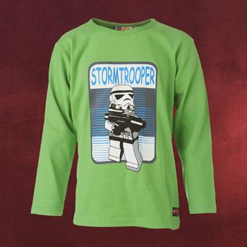 LEGO Star Wars - Stormtrooper Longsleeve f�r Kinder gr�n