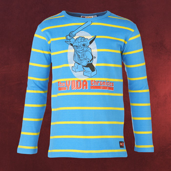 LEGO Star Wars - Yoda Chronicles Longsleeve f�r Kinder blau
