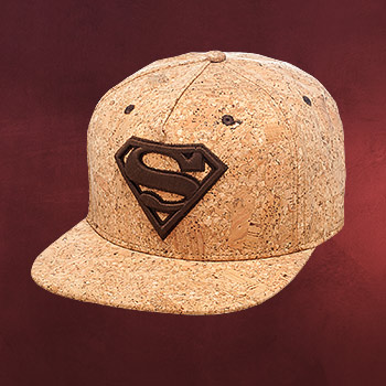 Superman Kork Snapback Cap