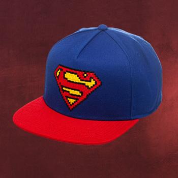 Superman Pixel Snapback Cap