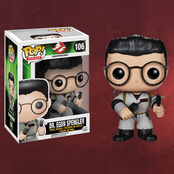 Ghostbusters - Egon Spengler Mini-Figur