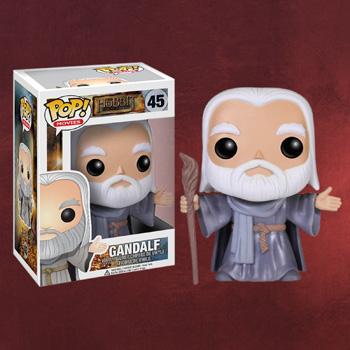 Der Hobbit - Gandalf mit Stab Mini-Figur