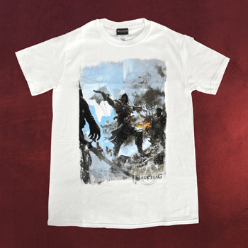 Assassins Creed IV - Fighting Stance T-Shirt wei�