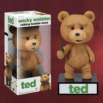 Ted Wackelkopf Figur mit Sprechfunktion