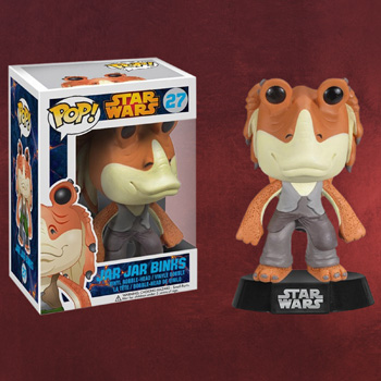 Star Wars - Jar Jar Binks Wackelkopf Figur