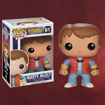 Zur�ck in die Zukunft - Marty McFly Mini-Figur
