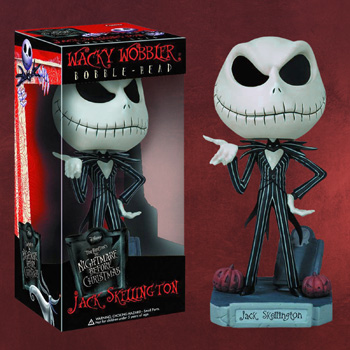 Nightmare Before Christmas - Jack Skellington Wackelkopf Figur