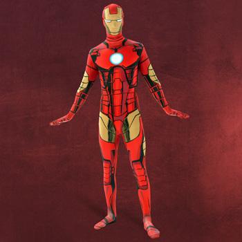 Iron Man - Overall Kost�m Herren