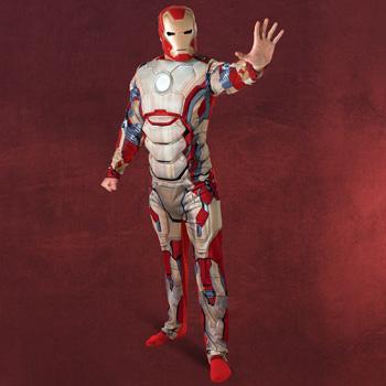 Iron Man - Overall Deluxe Kost�m Herren
