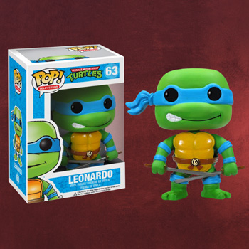 Teenage Mutant Ninja Turtles - Leonardo Mini-Figur