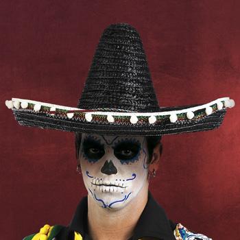 Mexikanischer Sombrero schwarz