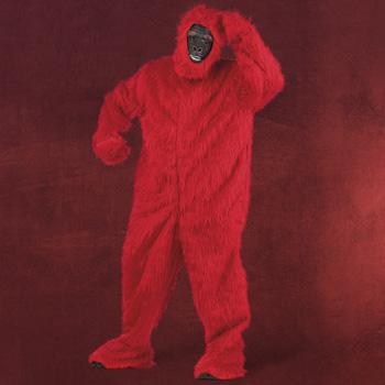 Roter Yeti Kostüm