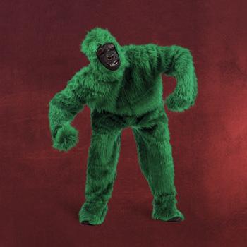 Grüner Yeti Kostüm