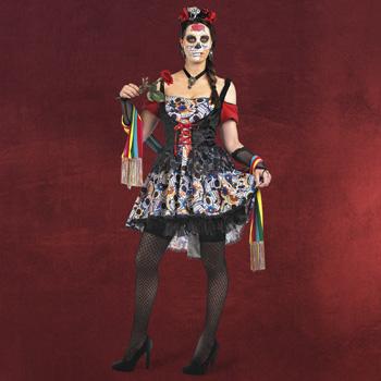 Mexikanerin Kost�m D�a de los Muertos