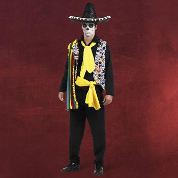 Mexikaner Kost�m D�a de los Muertos