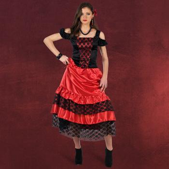 Spanische Lady Kost�m