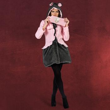 Maus Mantel mit Schal Damenkost�m