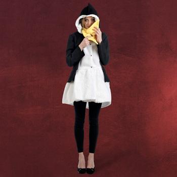 Pinguin Mantel mit Schal Damenkost�m