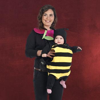 2 in 1 Baby Kost�m Blume und Biene
