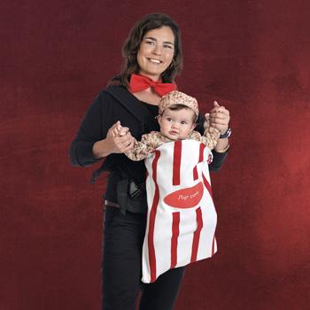 2 in 1 Baby Kino Kostüm Popcorn