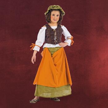 Mittelalter Wirtin Kinderkost�m