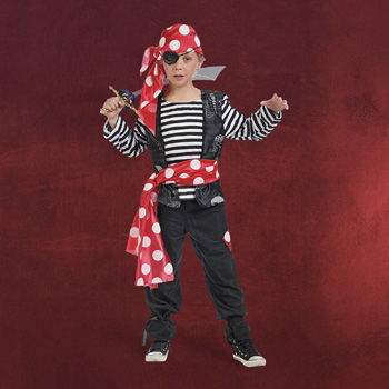 Tapferer Pirat Kinderkost�m