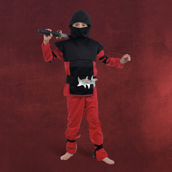 Roter Samurai Kinderkost�m