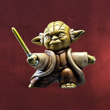 Star Wars - Yoda Fighting Miniatur Sammlerfigur