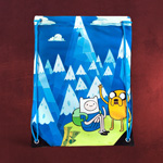 Adventure Time - Finn und Jake Sportbag
