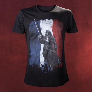 Assassins Creed - Flag T-Shirt schwarz