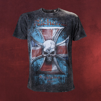 Alchemy - Iron Cross Vintage T-Shirt