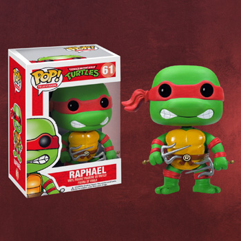Teenage Mutant Ninja Turtles - Raphael Mini-Figur