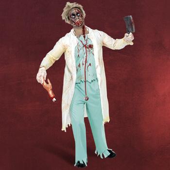 Zombie Doktor Kost�m Herren