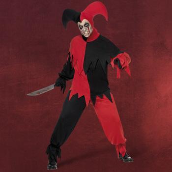 Halloween Harlekin Kost�m Herren