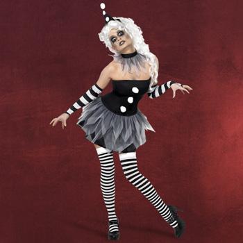 Halloween Harlekin Kost�m Damen