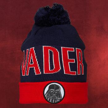 LEGO Star Wars - Darth Vader Bommel Mütze Kinder blau