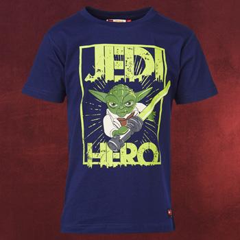 LEGO Star Wars - Yoda Hero T-Shirt Kinder blau