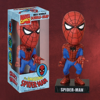 Spider-Man Wackelkopf Figur
