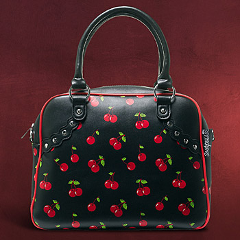Rockabilly - Henkel Tasche Cherries