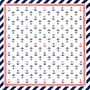 Rockabilly - Halstuch Bandana Sailor