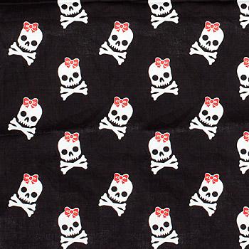 Rockabilly - Halstuch Bandana Skull