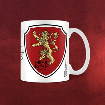 Game of Thrones - Lannister Wappen Tasse