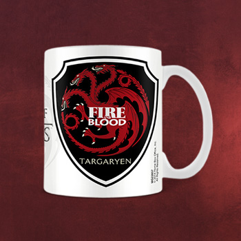 Game of Thrones - Targaryen Wappen Tasse